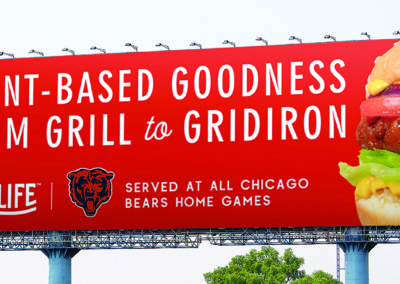 Lightlife and Chicago Bears kick off game-changing hometown partnerships