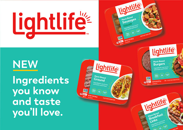 Lightlife® Reinvents Plant-Based Protein Line with Simpler Ingredients and New Look