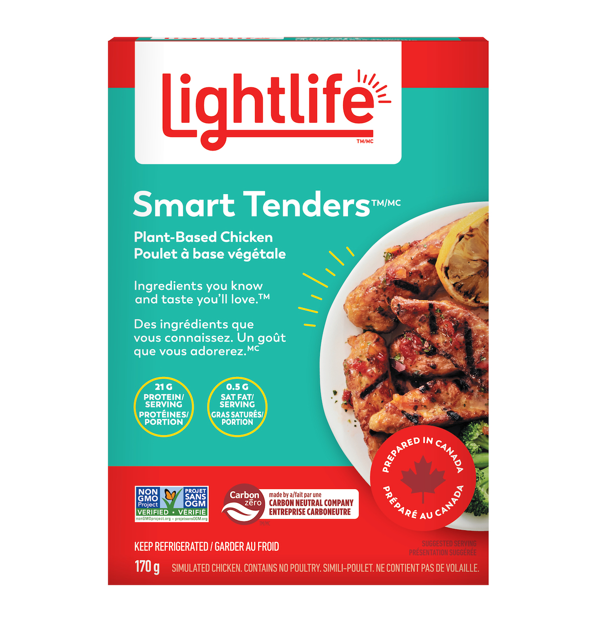 Smart Tenders® Plant-Based Chicken