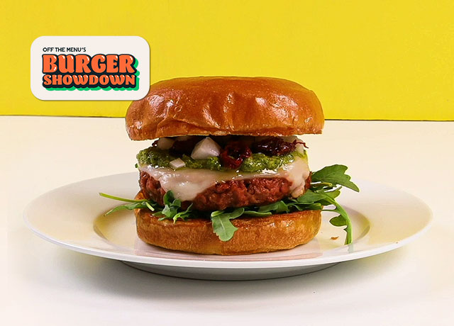 The Pesto's Yet to Come Burger