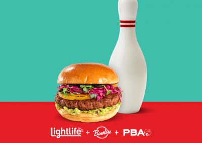 Lightlife® Announced as Official Plant-Based Food Partner of Bowlero Corp and the 2020 PBA Tour
