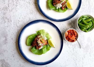 Asian-Inspired Lettuce Wraps
