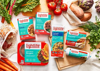 Lightlife Transforms Plant-Based Portfolio, Offers More Clean Plant-Based Protein Choices than Any Brand in the Category